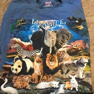 Earth Animal Environment Shirt Small